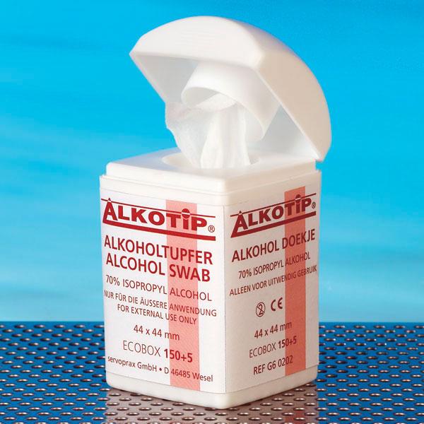 Dispenser servetele cu alcool ALKOTIP - 150 servetele [1]