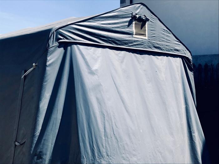 Garaj tip cort STORAGE PRO - prelata PVC - 3.3 x 6 x 2.4 m [1]