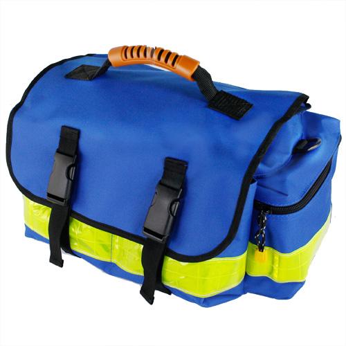 Geanta ambulanta YELLOW SMALL BLUE - 37x21x27 cm - interior modular - din poliester [0]