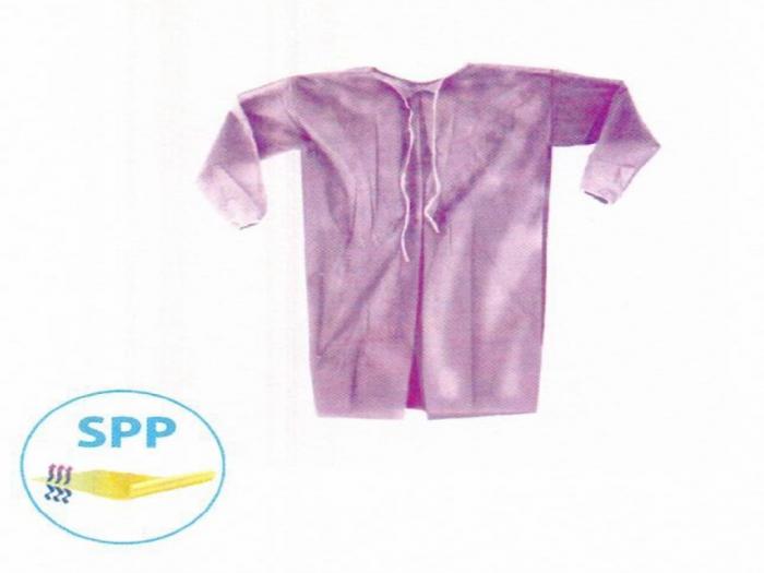 Halat pacient - unica folosinta culoare lila - SPP 18gr [0]