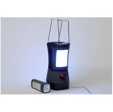 Lampa camping + 2 lanterne cu LED [0]