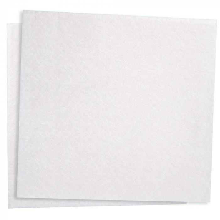 Laveta multi-scop TETRA BIO - culoare alb - 38x40 cm - din vascoza / PLA - superabsorbanta - 10 buc [0]