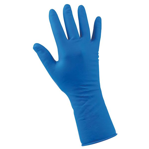 Manusi examinare SOFT-HAND-nitril albastru-diverse marimi-100 buc [0]