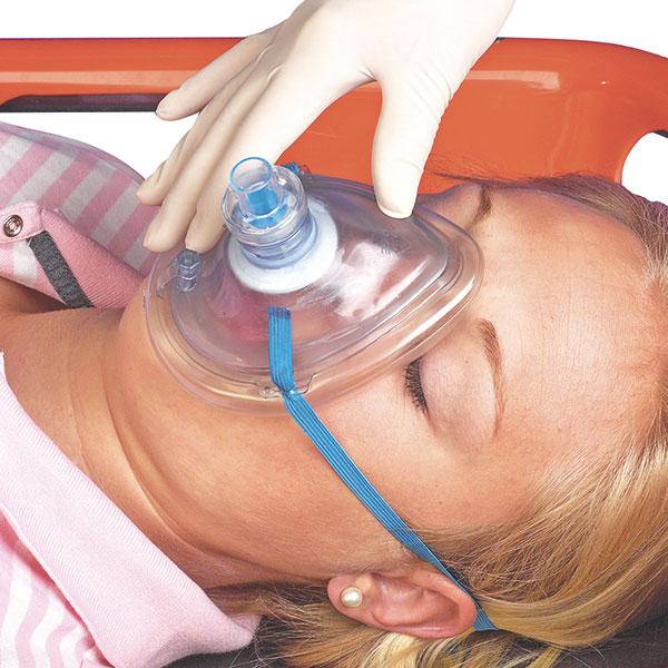 Masca respiratie gura la gura - Pocket Breezer - cutie CPR mask [0]