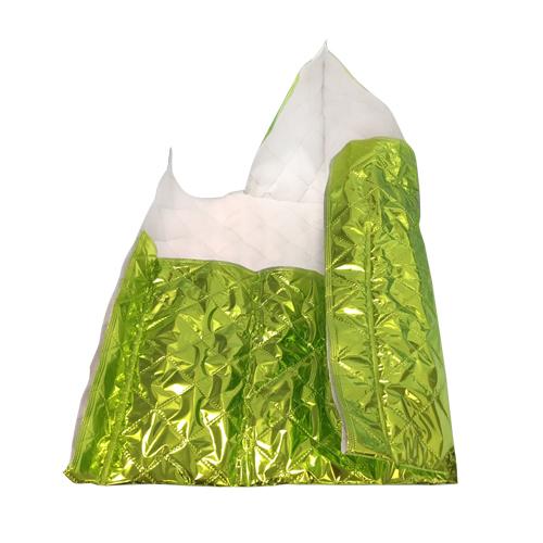 Patura hipotermie ARCTIC Baby Wrap - culoare verde neon - 55 cm x 47 cm tip plic [0]