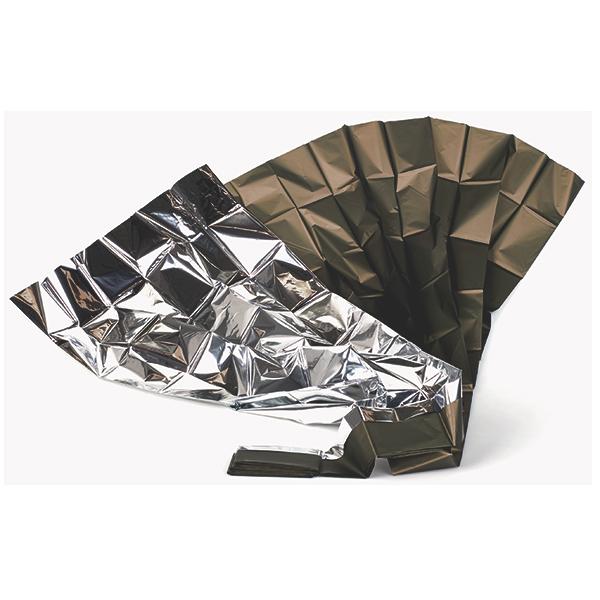 Patura prim ajutor RETTUNGS - auriu - argintiu - 160 x 210 cm [0]