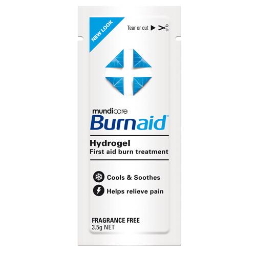 Plic gel pentru arsuri BURNAID non TTO - hidrogel - steril 3.5g [0]