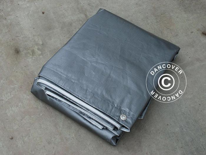 Prelata Tarpaulin cu capse 6x12m - material PE 300g [0]