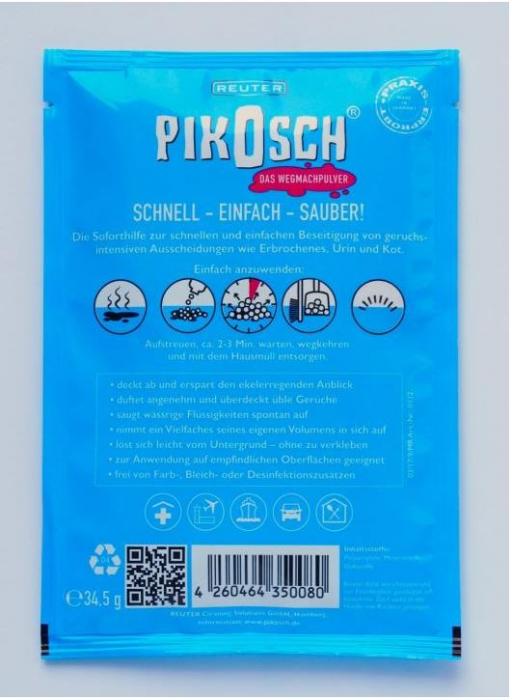 Pudra PIKOSCH PRO indepartare lichide [1]