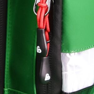 Rucsac medic pentru ambulanta PRO GREEN din TeflonSHIELD - impermeabil - 45x25x20 cm - cu fermoar si 5 module [1]
