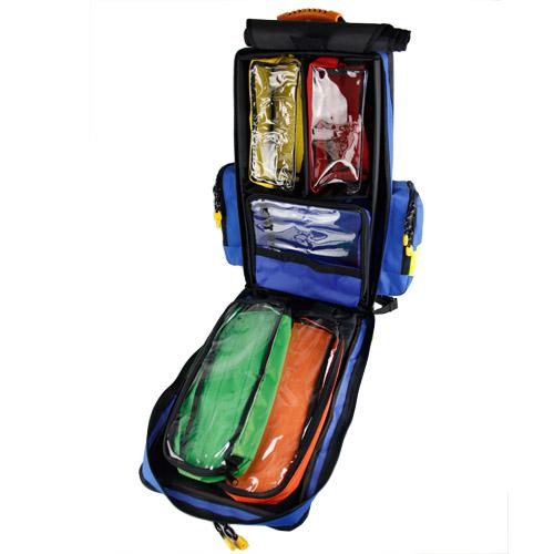 Rucsac medic pentru ambulanta YELLOW BLUE - 36x47x26 cm - cu 5 module si interior modular [2]