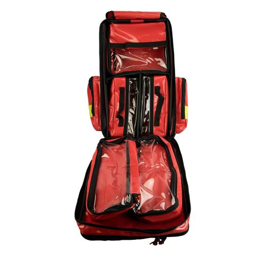 Rucsac medic pentru ambulanta YELLOW RED - 36x47x26 cm - cu 5 module si interior modular [3]