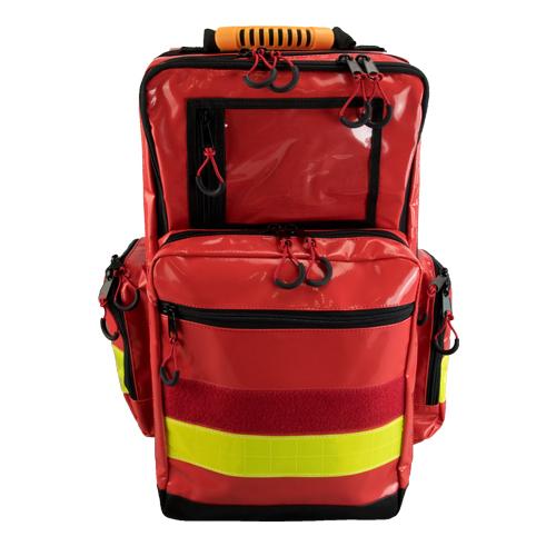 Rucsac medic pentru ambulanta YELLOW RED - 36x47x26 cm - cu 5 module si interior modular [0]