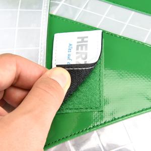 Rucsac urgente LARGE GREEN PLANE - impermeabil - 47x36x26 cm - cu buzunar [4]