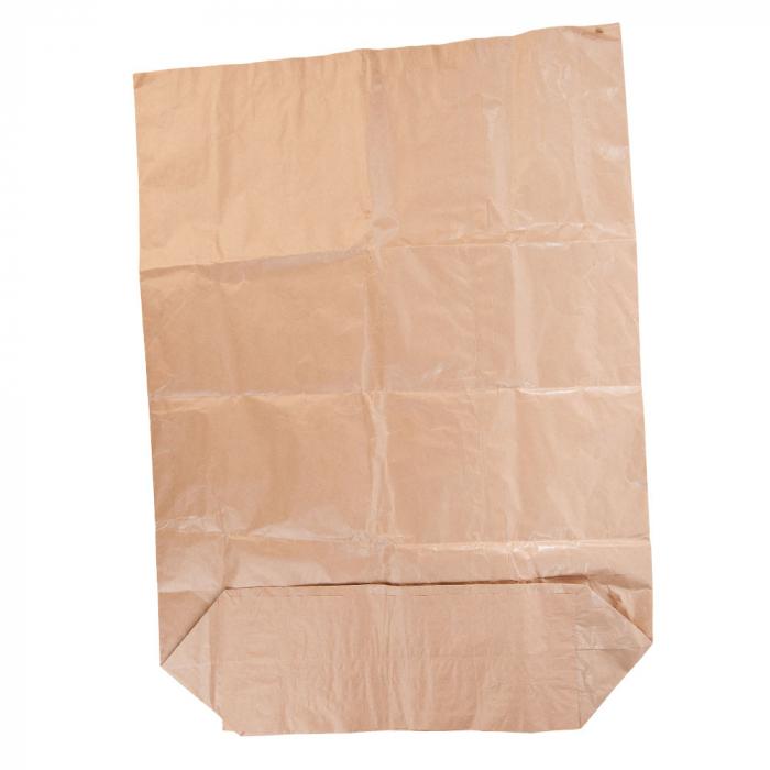 Sac de gunoi menajer compostabil - 120 litri 70x95x22 cm- din hartie - foarte rezistent [0]