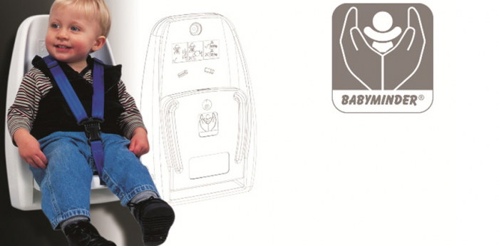 Scaun de siguranta pentru copii - SAFETY SEAT - ALB [2]