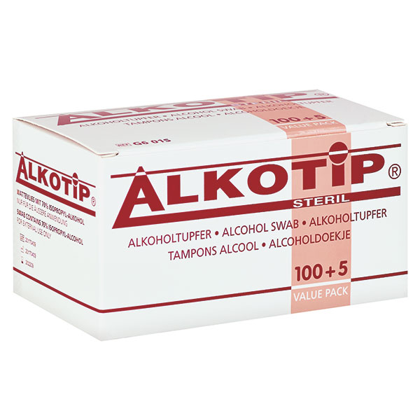 Servetele cu alcool ALKOTIP 6.5 x 3 cm - plic igienic [0]