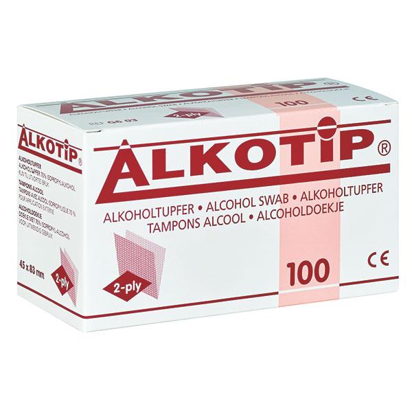 Servetele cu alcool ALKOTIP 9 x 11 cm - plic igienic [0]