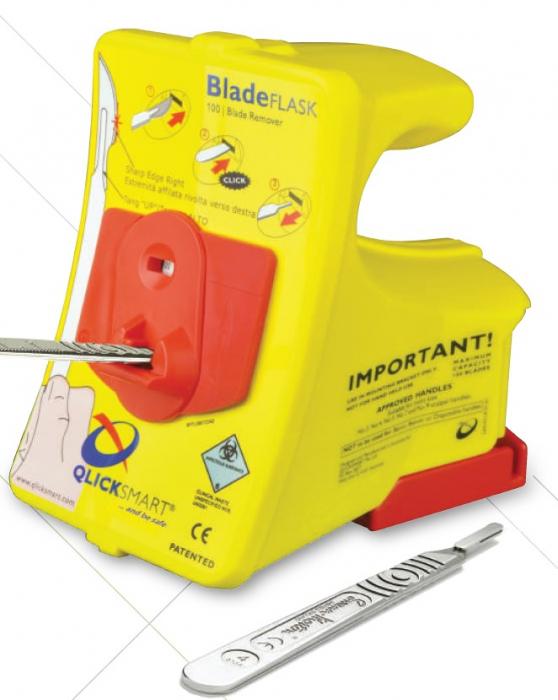 Sistem cu recipient de colectare BLADE FLASK - pentru eliminare lame bisutiru in siguranta [2]