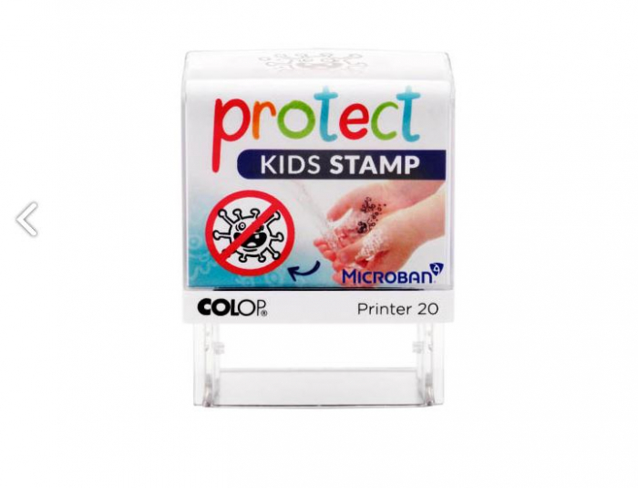 Stampila Protect Kids COLOP - Stop Corona [1]