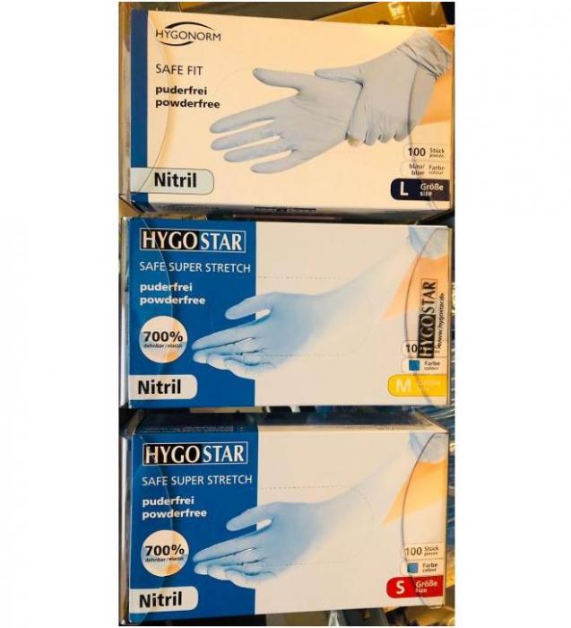 Suport din ABS transparent pentru 3 cutii de manusi  - 39x8.5x22 cm [0]