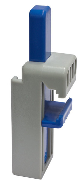 Suport DROH prindere recipient aspirator - pe sina de 12x24-45 mm - din plastic [0]