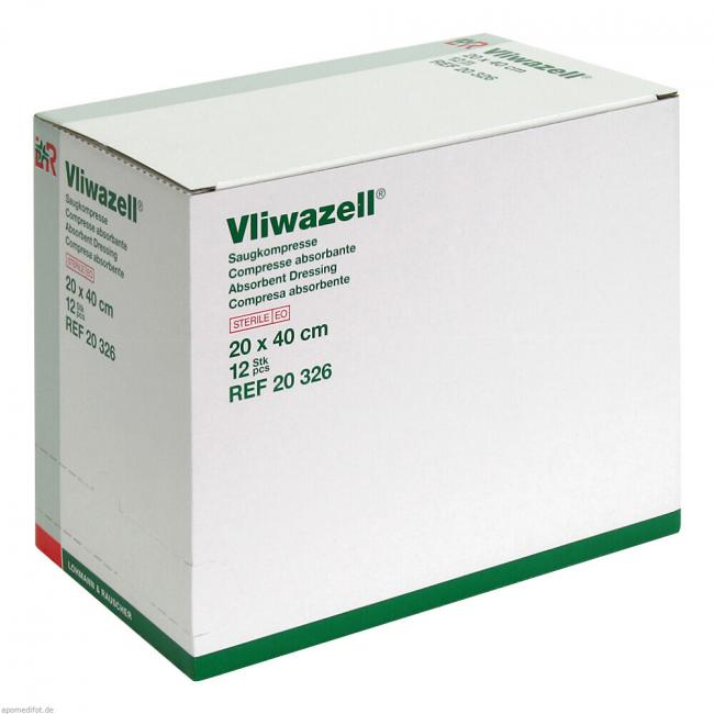 Tampoane abdominale VLIWAZELL - 20x40cm - steril [0]