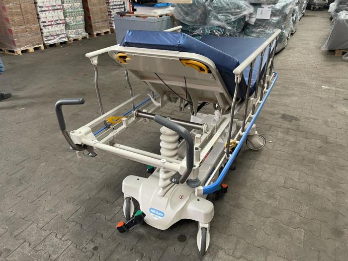 Targa ambulatoriu transport pacient HILL ROM TRANSTAR - reglare inaltime, saltea translucent radiografie - 318 Kg pacient [3]