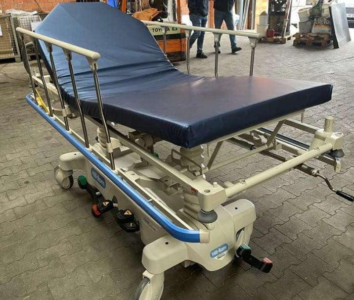 Targa ambulatoriu transport pacient HILL ROM TRANSTAR - reglare inaltime, saltea translucent radiografie - 318 Kg pacient [5]