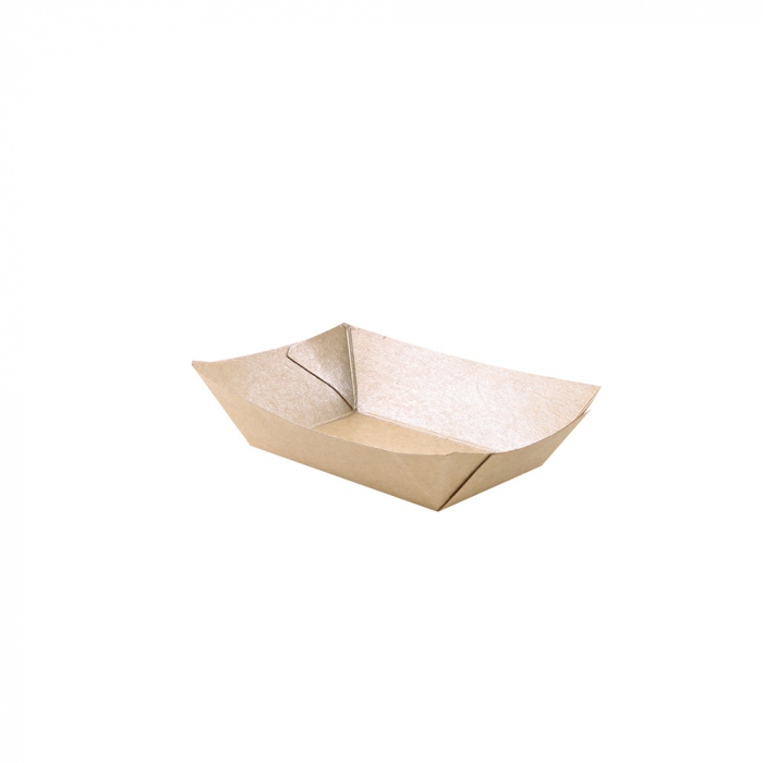 Tava mancare TASTY 15.4x10.7x4.1cm - hartie kraft impregnata PLA - 400 ml [0]
