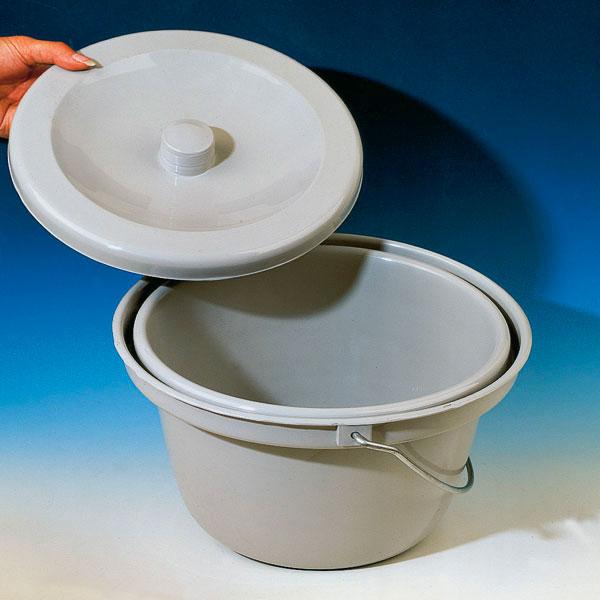 Toaleta cu capac pt scaun WC - plastic [0]