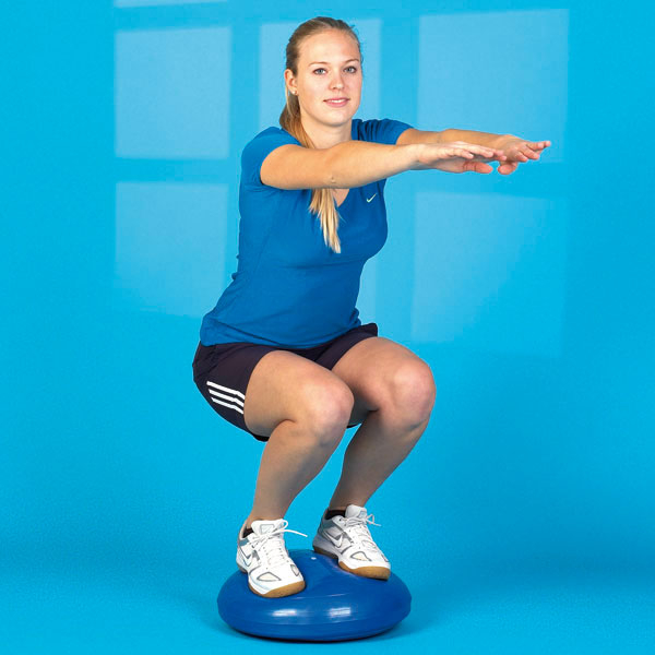 Trainer echilibru - balans - 45 cm albastru [0]