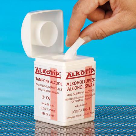 Dispenser servetele cu alcool ALKOTIP - 150 servetele [0]
