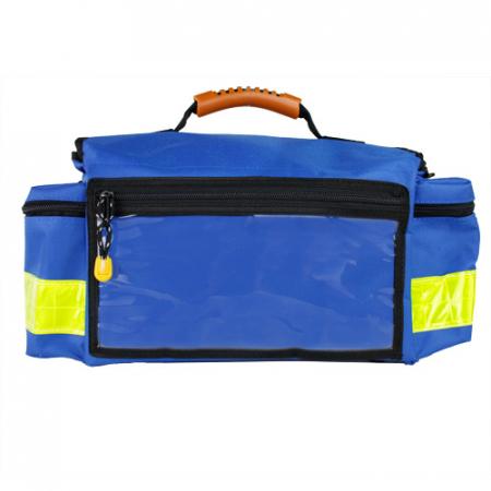 Geanta ambulanta YELLOW SMALL BLUE - 37x21x27 cm - interior modular - din poliester [1]