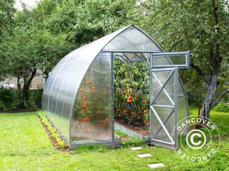 Greenhouse ARROW - sera din aluminiu cu policarbonat - 3x2 m - rezistenta la iarna [0]