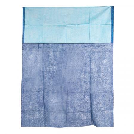 Patura targa ambulanta LIFEGUARD - din netesut, albastra - 110x190 cm - 250g [0]