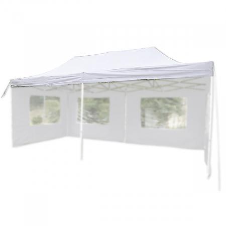 Pavilion PROFI pliabil 3 x 6 m - alb acoperis impermeabil [0]