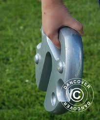 Placa metalica rotunda 14 KG [2]