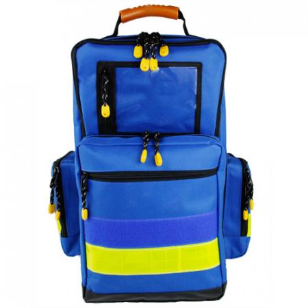 Rucsac medic pentru ambulanta YELLOW BLUE - 36x47x26 cm - cu 5 module si interior modular [0]