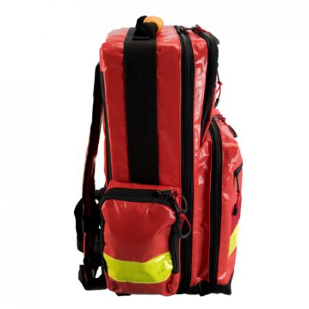 Rucsac medic pentru ambulanta YELLOW RED - 36x47x26 cm - cu 5 module si interior modular [1]