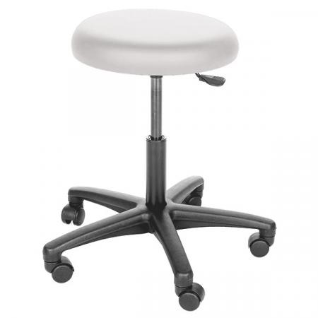 Scaun medic - rotativ 360grade - inaltime reglabila - negru [1]