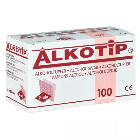 Servetele alcool ALKOTIP PROTECT 6x3 cm - plic igienic [0]