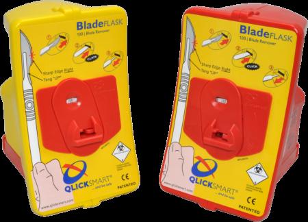 Sistem cu recipient de colectare BLADE FLASK - pentru eliminare lame bisutiru in siguranta [1]