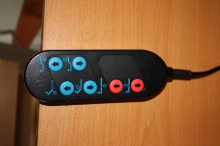 Telecomanda pat spital electric - 6 functii - 8 pin [1]