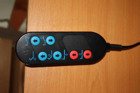 Telecomanda pat spital electric - 6 functii - 8 pin [4]
