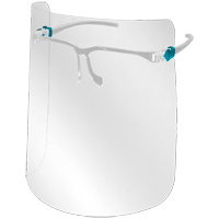 Viziera ACE completa suport tip ochelari - refolosibila - preventia infectiilor prin stropi - pentru adulti [0]