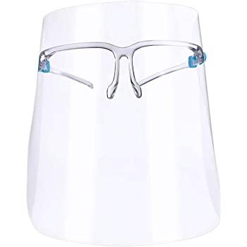 Viziera ACE completa suport tip ochelari - refolosibila - preventia infectiilor prin stropi - pentru adulti [1]