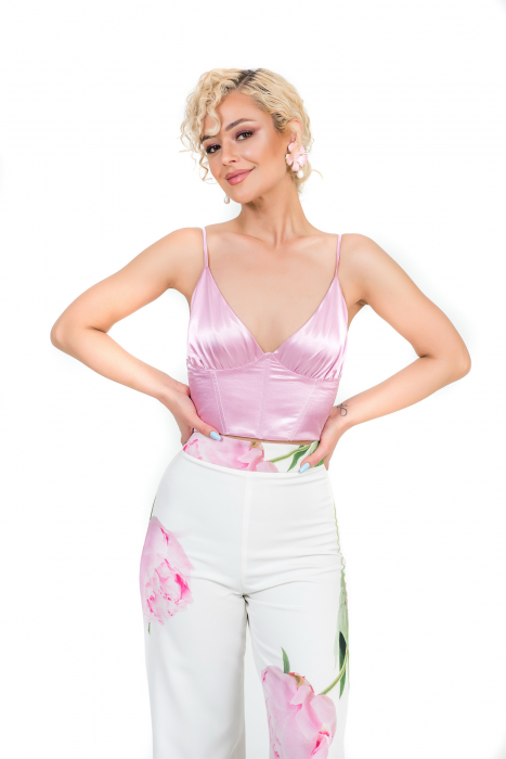 Costum custom print roz [2]