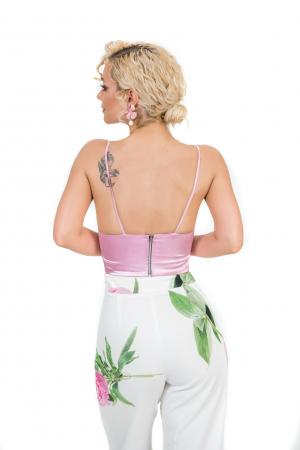 Costum custom print roz [3]