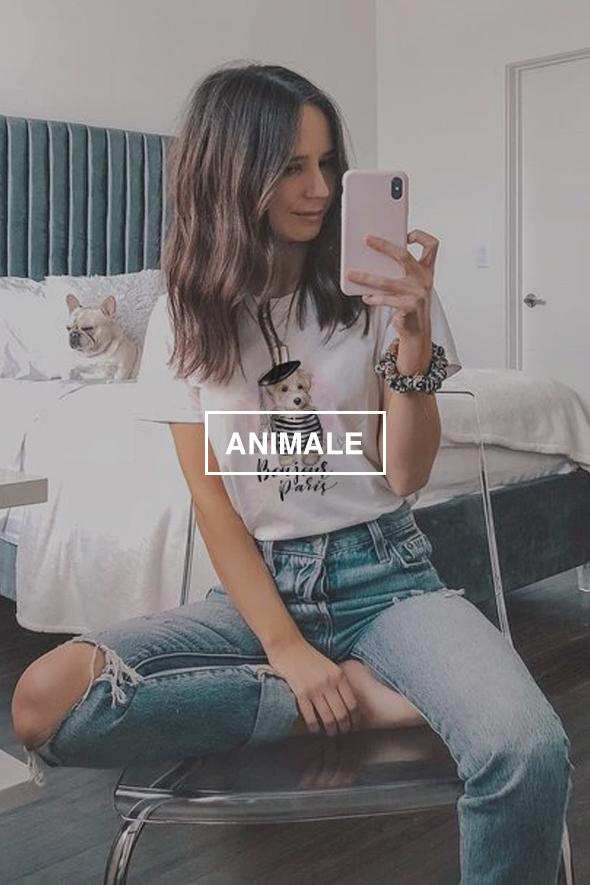 Tricouri Animale
